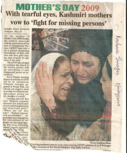 Mughal Mass spent 22 years searching for her son, Nazir Ahmed. In 2009, she passed away, her son was never found.